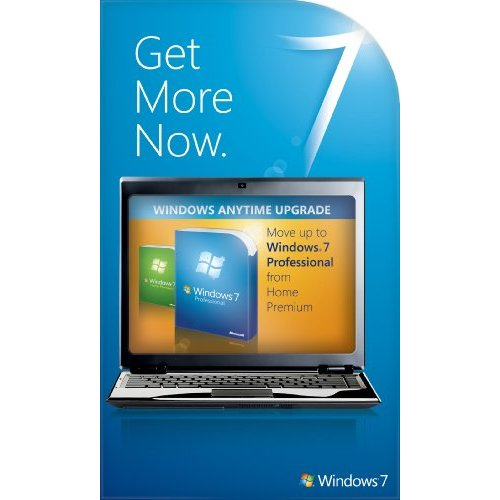 Windows 7 Home Premium to Professional Anytime Upgrade Product Key