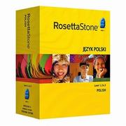Rosetta Stone Polish Level 1, 2, 3 Set
